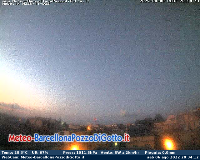 Webcam Barcellona Pozzo di Gotto Live webcamera